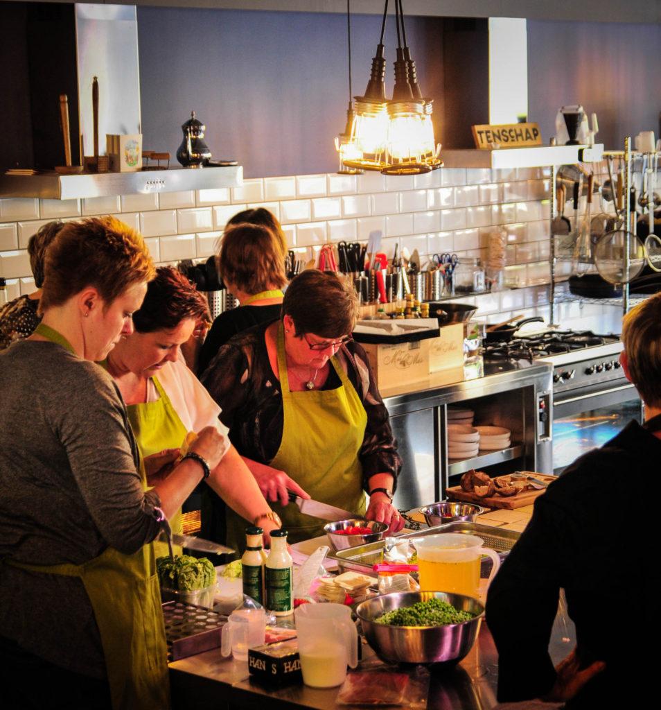 Kookworkshop - lekker koken & genieten - Kookstudio Etenschap
