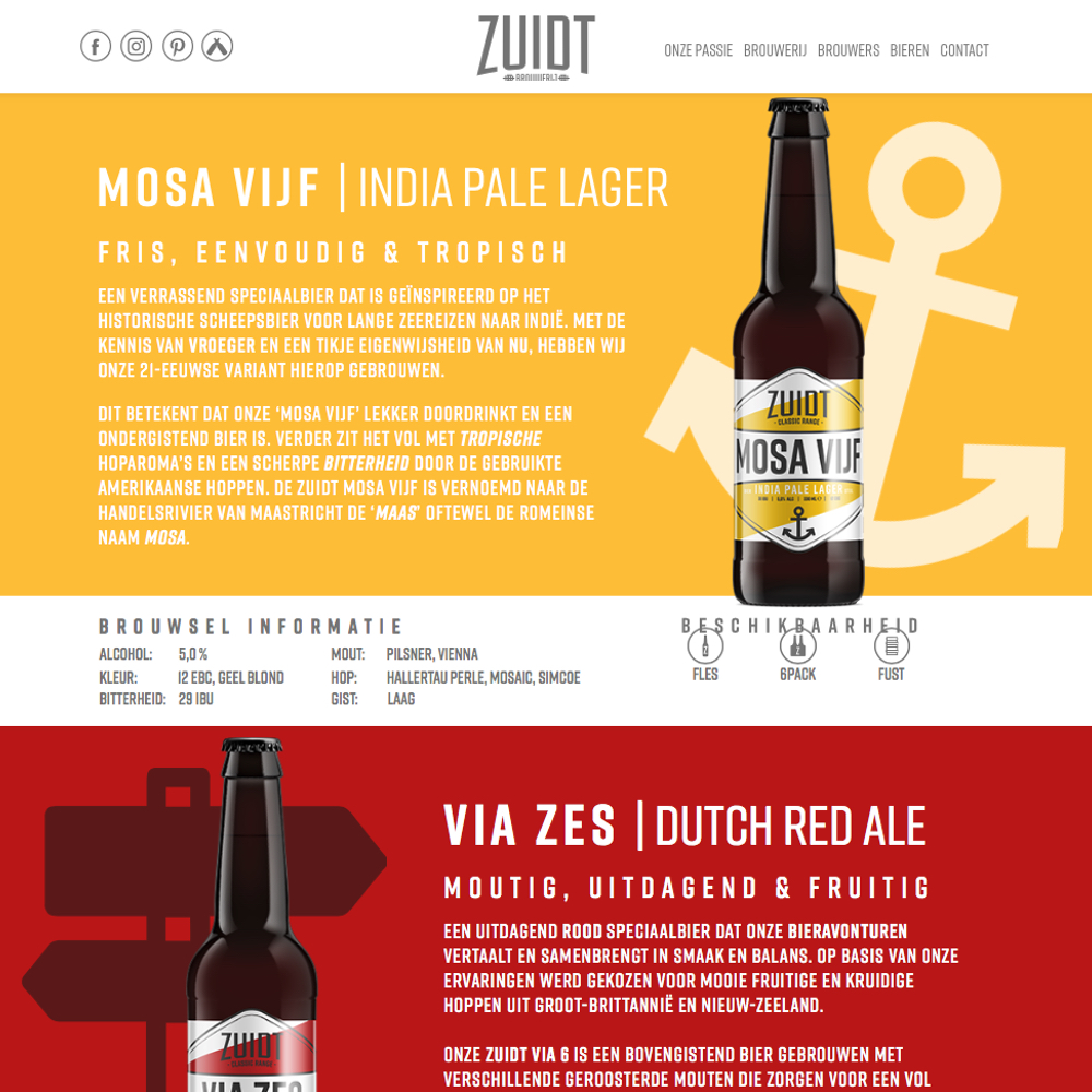 Bieren brouwerij Zuidt - Kookstudio Etenschap