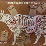 Beef cuts chart - connecting the dots - during the masterclass beer steaks at Kookstudio Etenschap in Valkenburg