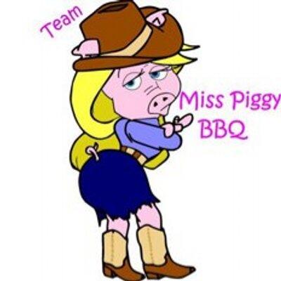 Miss Piggy BBQ team UK logo